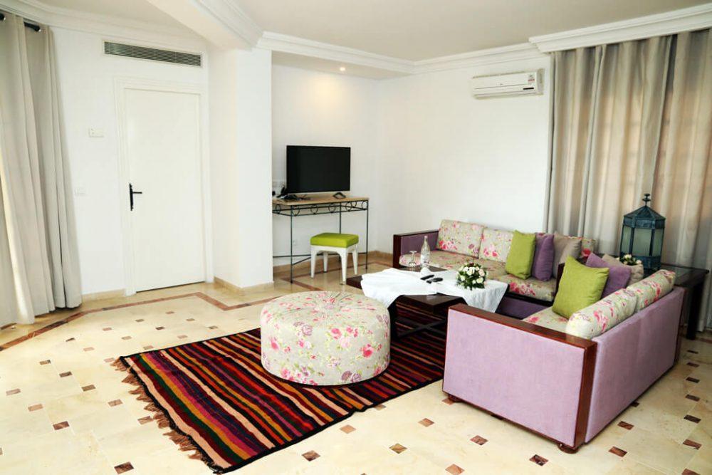 Suite S 3 Suite Hotel Les Charmilles Spa Tunisie